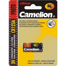 Элемент питания CAMELION CR123A Litium BL1